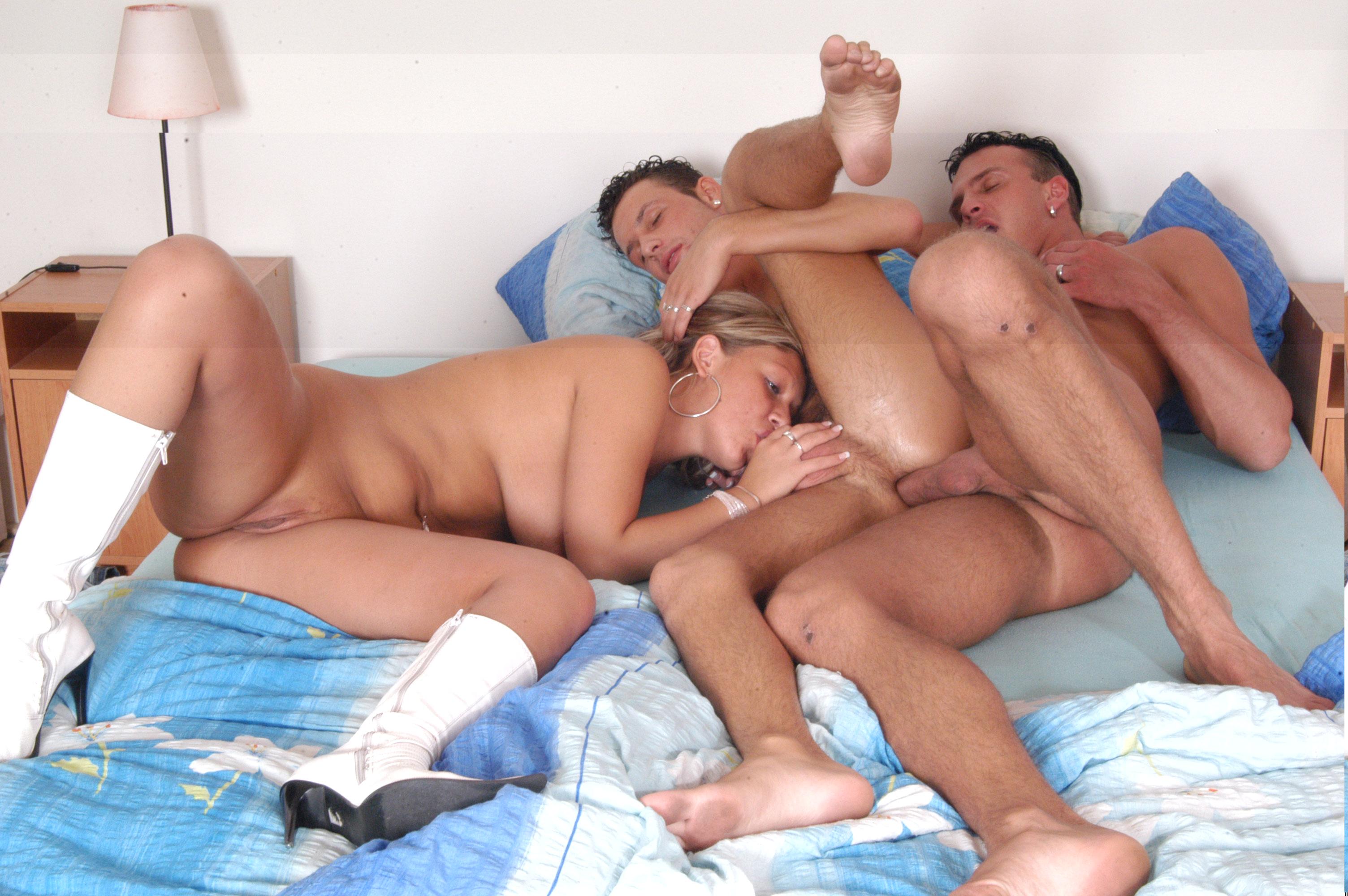 Bisexual bareback