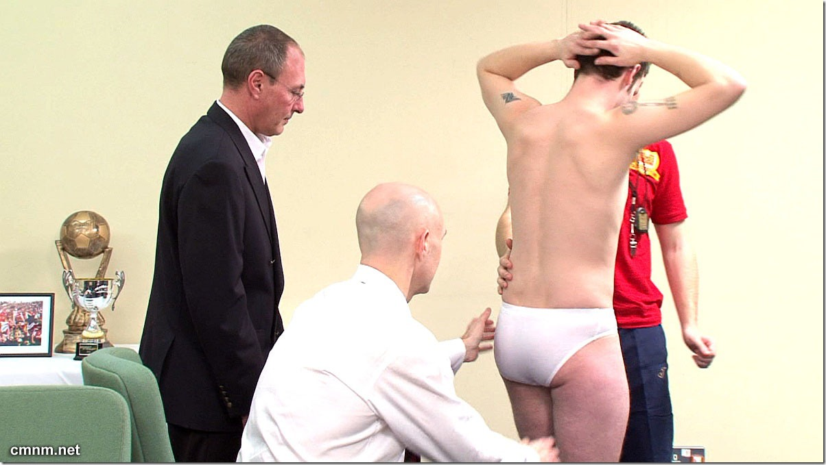 clothed male naked male Footballer Paul Stripped (4)