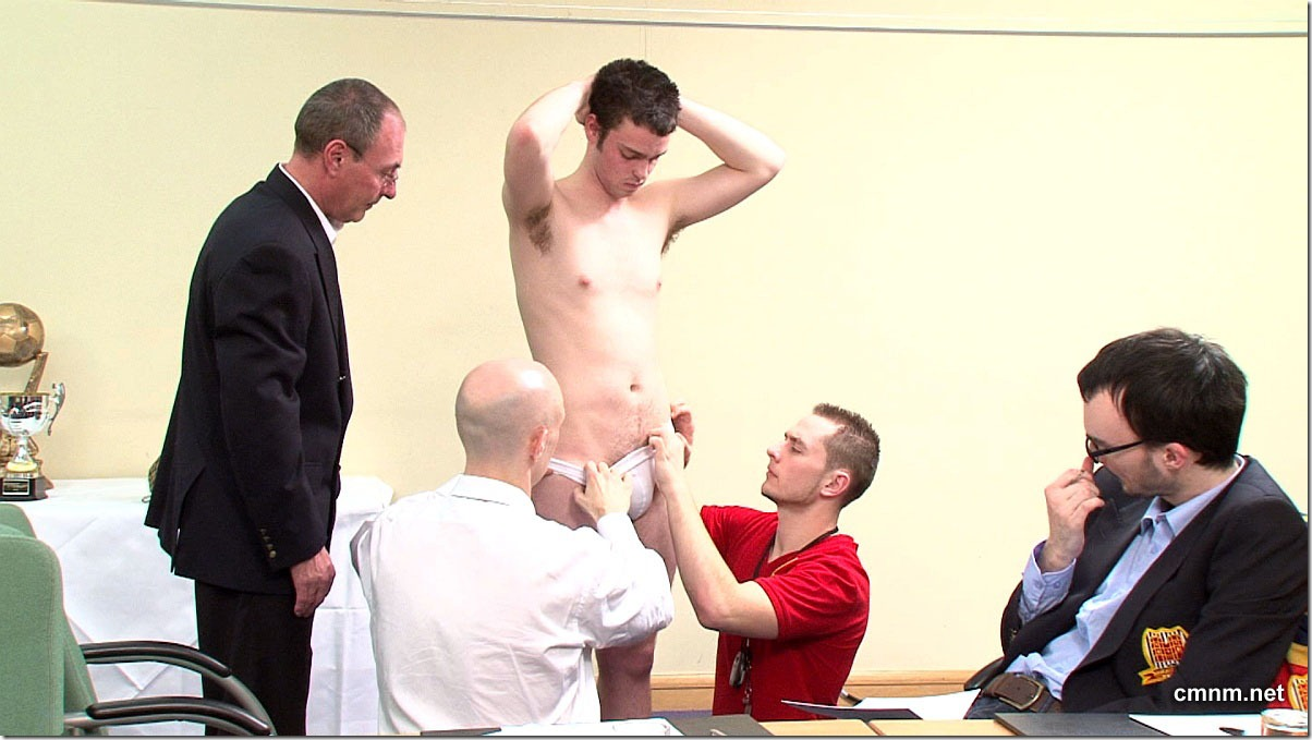 clothed male naked male Footballer Paul Stripped (5)