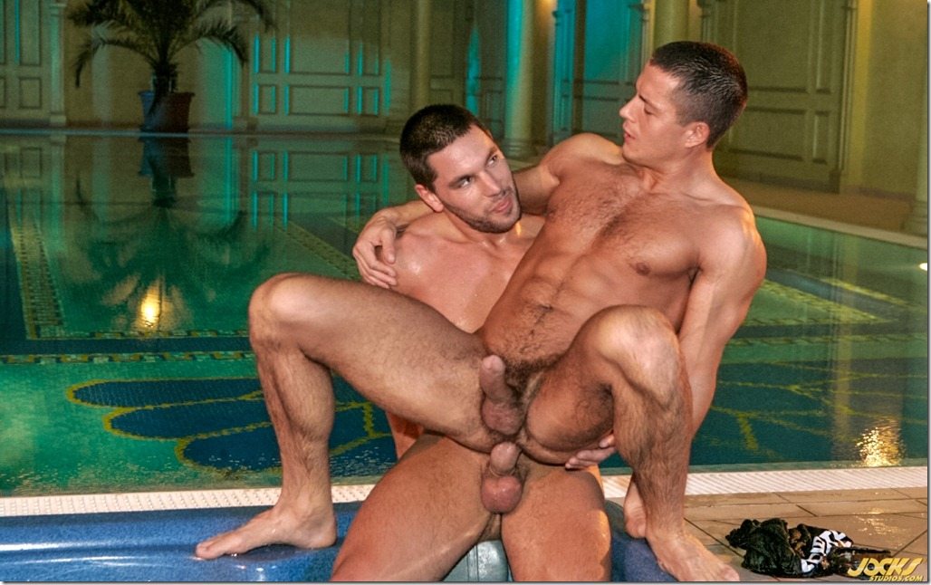 jocks studios GLEN SANTORO AND JULIAN VENEZIANO